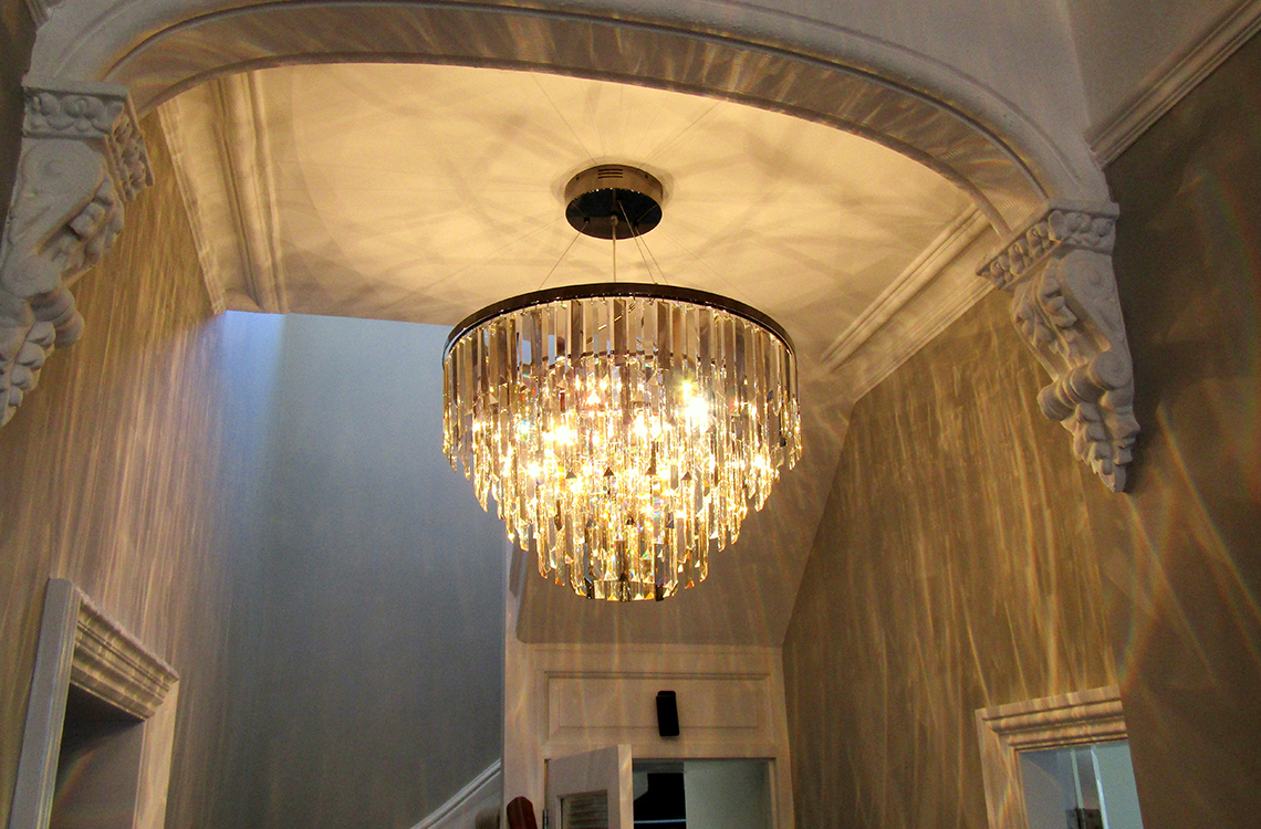 New lighting installation in Dorset