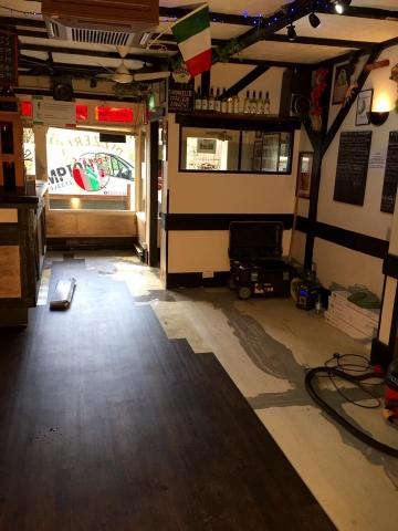 Flooring Franco's Restaurant Broadstone, Poole