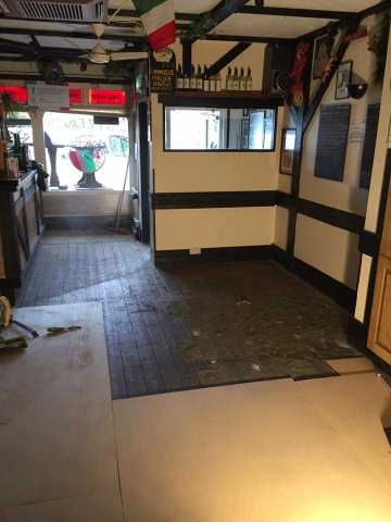 Flooring specialist at Franco's Restaurant Broadstone, Poole