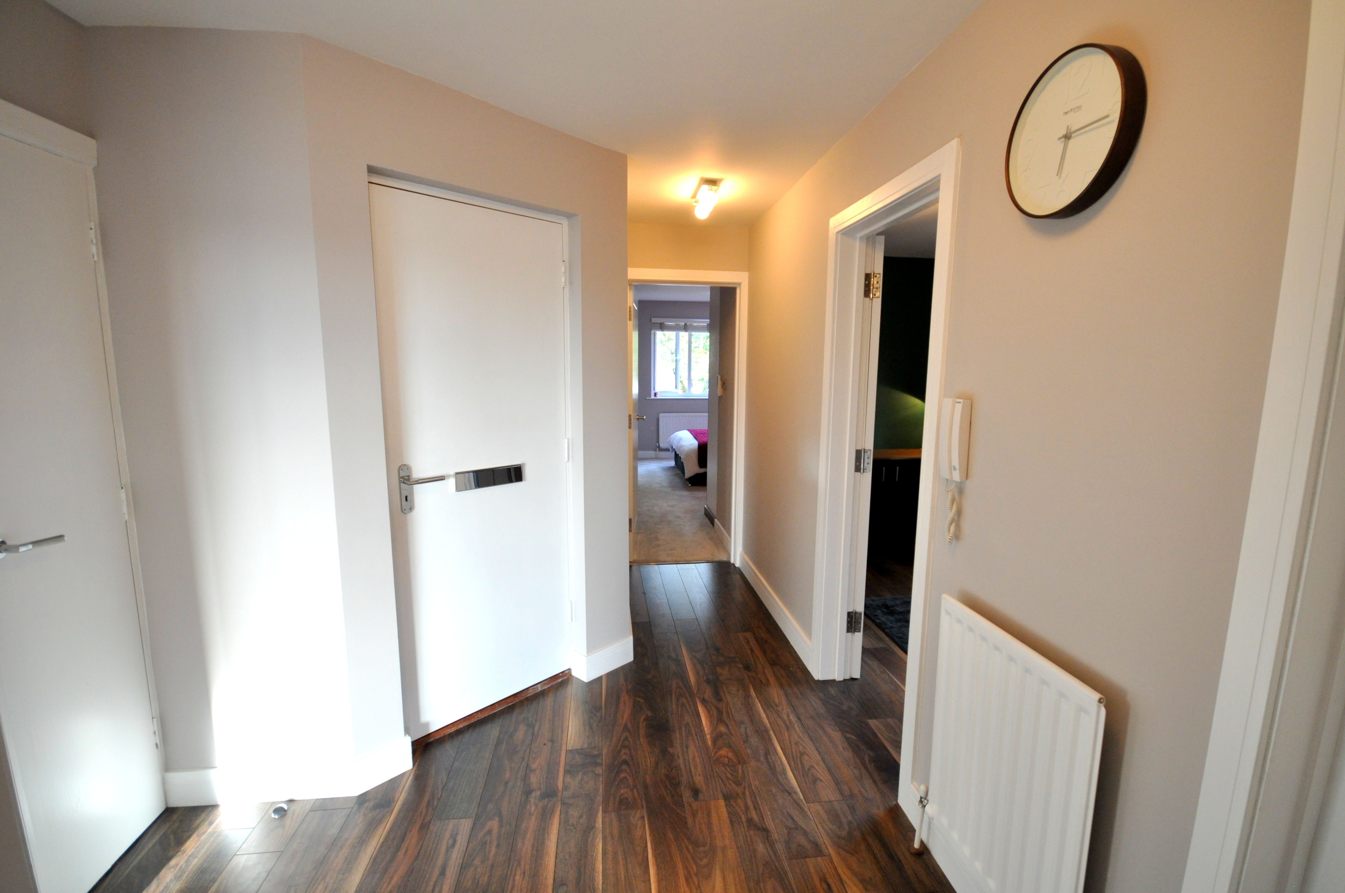Plastering a hallway in Poole