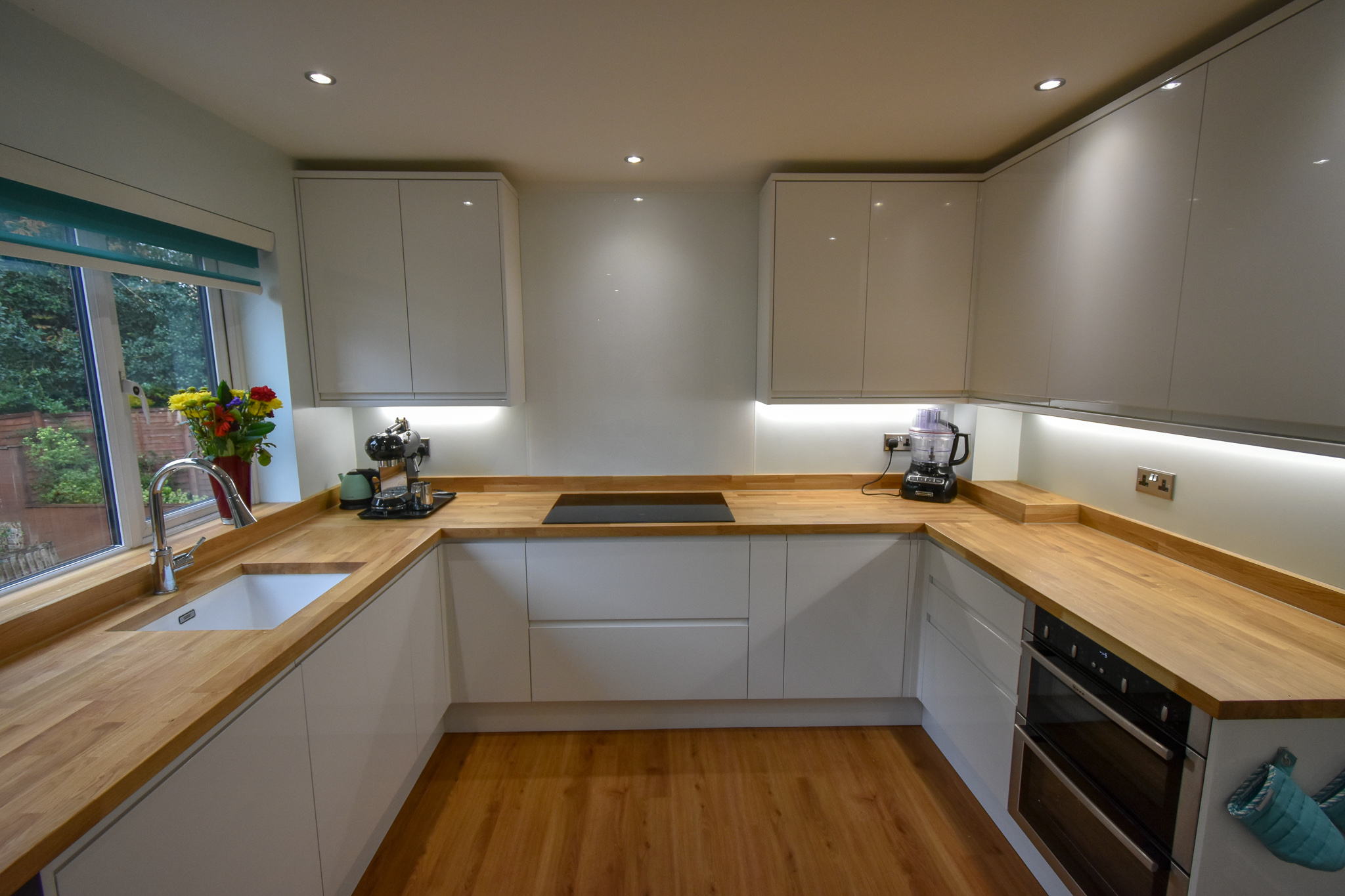 Kitchen supplied and installed in Poole
