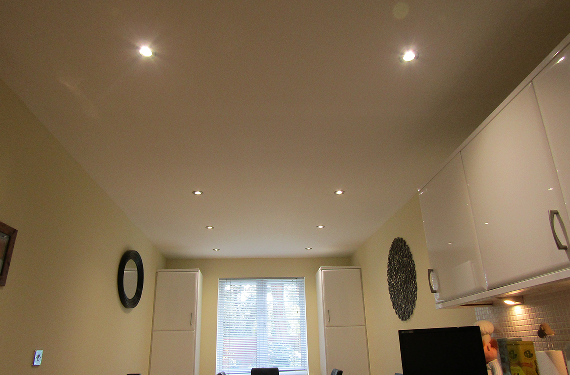 Kitchen lighting installation in Poole, Dorset