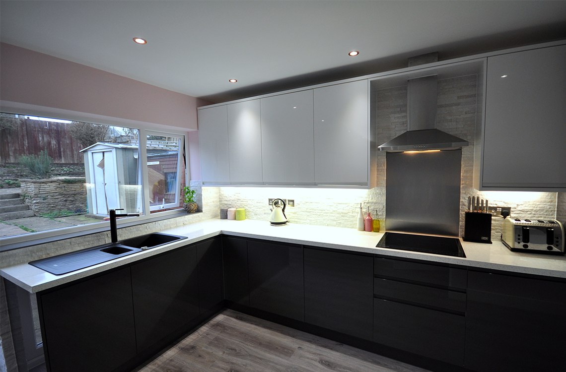 Kitchen fitting in Bournemouth by Champion Projects