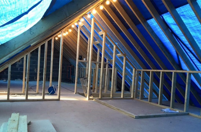 Carpentry services for loft conversions and house extensions in Dorset