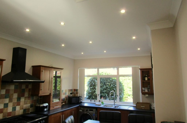 Electrical services for kitchen refit and lighting installation Dorset
