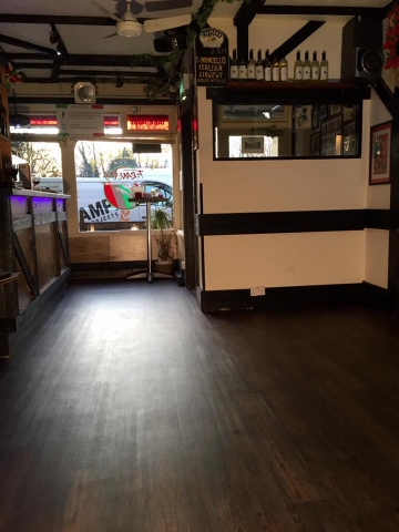 New flooring Franco's Restaurant Broadstone, Poole