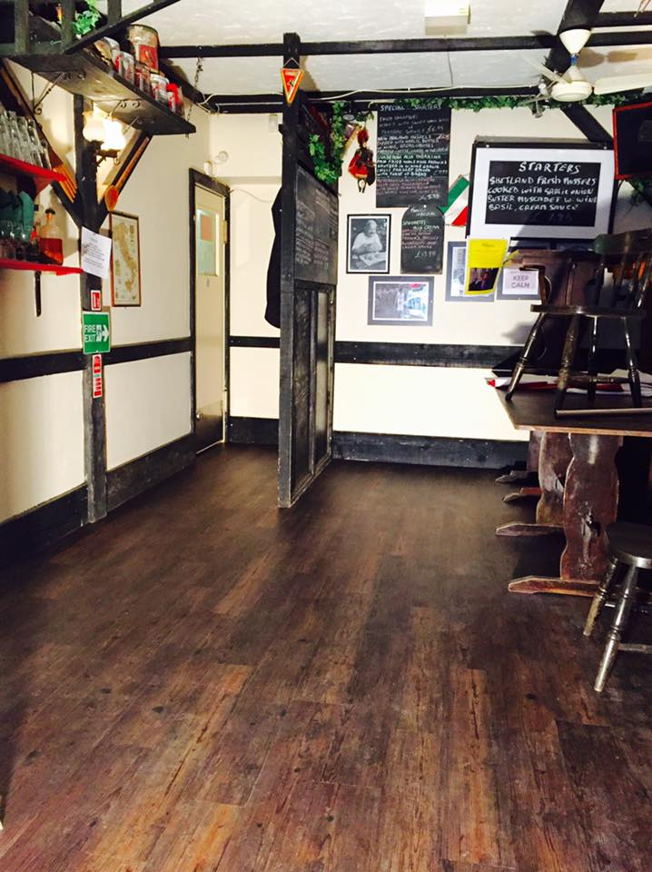 Flooring in Poole for Franco's Restaurant, Broadstone