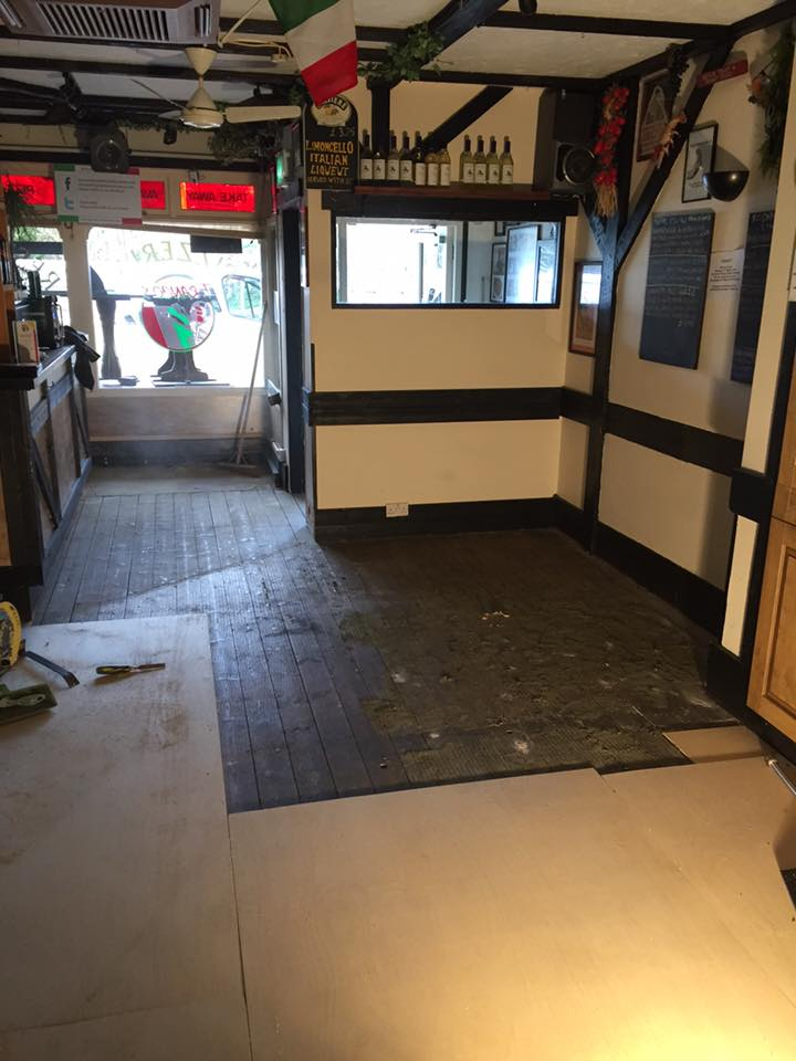 Flooring specialist at Franco's Restaurant in Broadstone, Poole