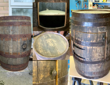 Whisky Barrel Refurbishment - Bespoke Carpentry Services Poole