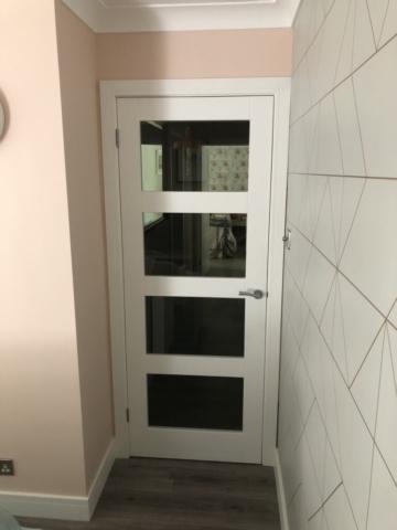 Glazed Shaker Style Door - Carpenters Bournemouth