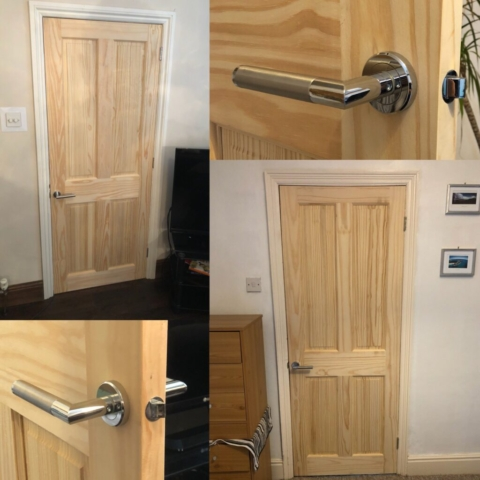 Solid Pine Doors & Carpentry Services Poole