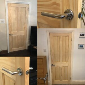 Solid Pine Doors - Carpentry Services