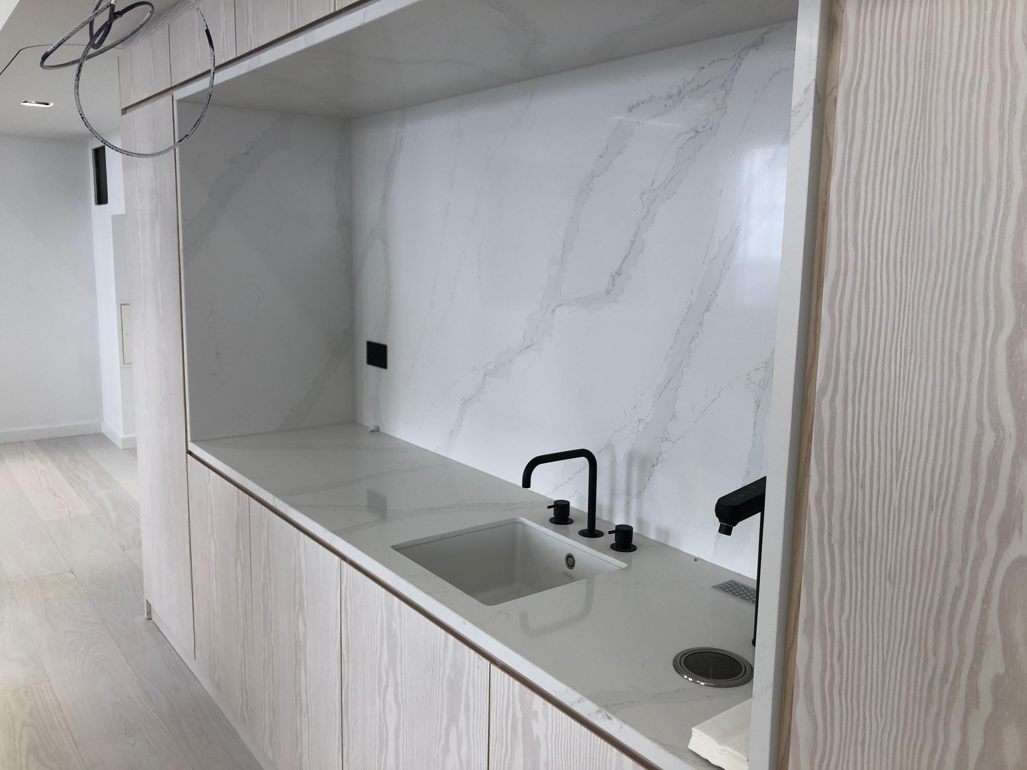 Quartz Worktop - Kitchen Installation Poole